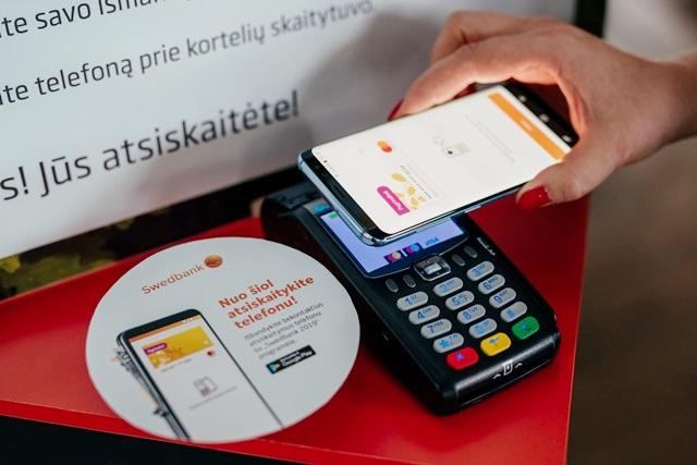 Swedbank NFC mokėjimai
